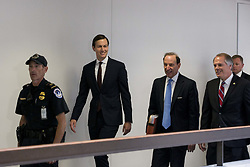 July 24, 2017 - Washington, District Of Columbia, U.S. - Special Advisor to President Trump JARED KUSHNER arrives in the Hart Senate Office Building on Capitol Hill. Kushner is expected to meet with Senate staff members to discuss his involvement with Russia during the 2016 presidential campaign. (Credit Image: © Alex Edelman via ZUMA Wire)