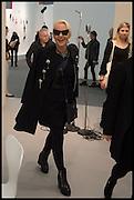 AMANDA ELIASCH, Opening of Frieze art Fair. London. 14 October 2014