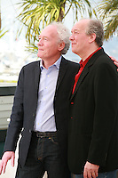 Directors Jean-Pierre Dardenne and Luc Dardenne at the photo call for the film Foxcatcher at the 67th Cannes Film Festival, Tuesday 20th May 2014, Cannes, France.
