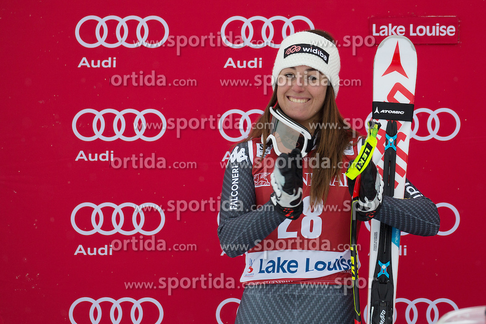02.12.2016, Lake Louise, USA, FIS Weltcup Ski Alpin, Lake Louise, Abfahrt, Damen, im Bild Sofia Goggia (ITA) // Sofia Goggia of Italy during Women's Downhill of the Lake Louise FIS Ski Alpine World Cup. Lake Louise, United States on 2016/12/02. EXPA Pictures &copy; 2016, PhotoCredit: EXPA/ SM<br /> <br /> *****ATTENTION - OUT of GER*****