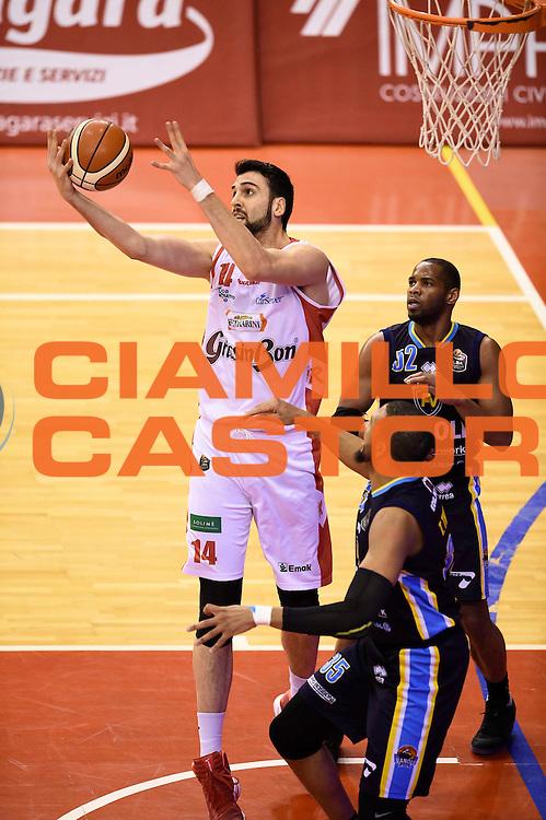 Riccardo Cervi<br /> Grissin Bon Reggio Emilia - Vanoli Cremona<br /> Lega Basket Serie A 2016/2017<br /> Reggio Emilia, 08/01/2017<br /> Foto Ciamillo-Castoria