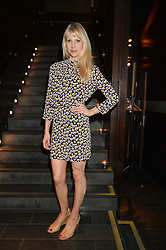 LUCY PUNCH at the West End opening night of 'Great Britain' a  play by Richard Bean held at The Theatre Royal, Haymarket, London followed by a post show party at Mint Leaf, Suffolk Place, London on 26th September 2014.