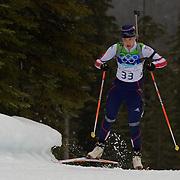 Winter Olympics, Vancouver, 2010.Katja Haller, Italy  in action during the Women's 7.5 KM Sprint Biathlon at The Whistler Olympic Park, Whistler, during the Vancouver  Winter Olympics. 13th February 2010. Photo Tim Clayton