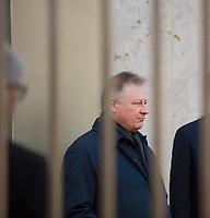 DEU, Deutschland, Germany, Berlin, 08.02.2019: BND-Präsident Bruno Kahl beim Festakt zur Eröffnung der neuen Zentrale des Bundesnachrichtendienstes (BND).