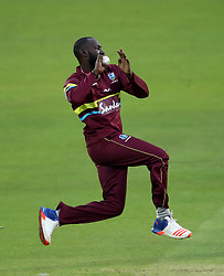West Indies' Kesrick Williams during the special fundraising T20 International match at Lord's, London.
