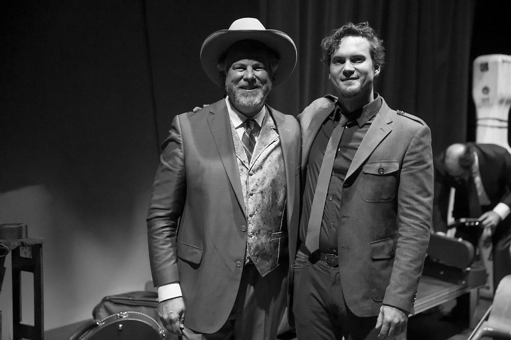 Robert Earl Keen in concert at the Cailloux Theater in Kerrville, Texas, February 21, 2015. Photograph © 2015 Darren Carroll.