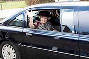 Prinses Beatrix bezoekt een tentoonstelling over wijlen kunstenaar Ad Dekkers, waar alle maquettes van zijn werken bij elkaar zijn gebracht en onthult de reconstructie  van het tegelreiëf in Bergeijk.<br /> <br /> Princess Beatrix visits an exhibition about the late artist Ad Dekkers, where all the models of his works are brought together and reveals the reconstruction of the tile relief<br /> <br /> Op de foto: Prinses Beatrix / Princess Beatrix