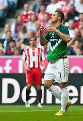 11.09.2010, Allianz Arena, München, GER, 1. FBL, FC Bayern München vs Werder Bremen, im Bild Marko Arnautovi?, (Werder Bremen, #7), EXPA Pictures © 2010, PhotoCredit: EXPA/ J. Feichter