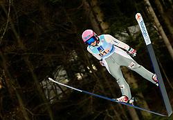 Barbora Blazkova of Czech Republic during Team Competition at Day 2 of World Cup Ski Jumping Ladies Ljubno 2019, on February 9, 2019 in Ljubno ob Savinji, Slovenia. Photo by Matic Ritonja / Sportida