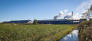 sugar cane processing plant near Donaldsonville, Louisiana