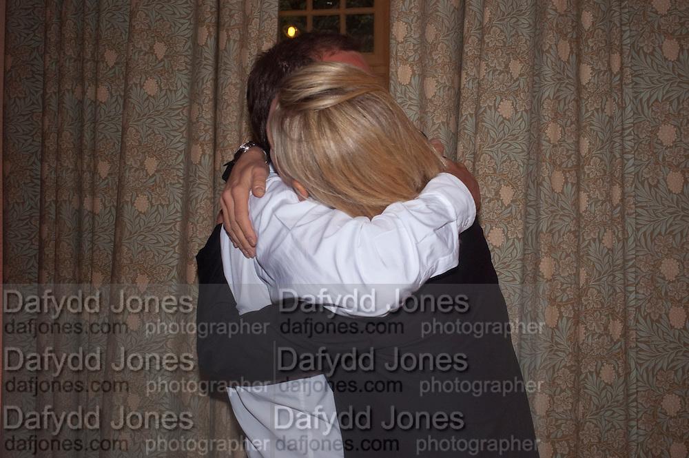 MATTHEW FREUD; ELIZABETH MURDOCH, Freud Museum dinner, Maresfield Gardens. 16 June 2011. <br /> <br />  , -DO NOT ARCHIVE-&copy; Copyright Photograph by Dafydd Jones. 248 Clapham Rd. London SW9 0PZ. Tel 0207 820 0771. www.dafjones.com.