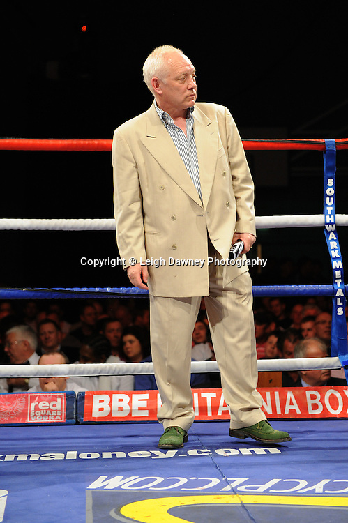 Frank Maloney at Medway Park, Gillingham, Kent,  UK on 13th May 2011. Frank Maloney Promotions. Photo credit © Leigh Dawney.