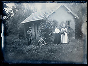 family during a vacation France  ca 1920s