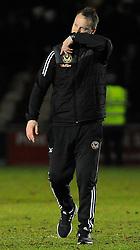 Newport County manager Michael Flynn  - Mandatory by-line: Nizaam Jones/JMP- 23/01/2018 - FOOTBALL - Rodney Parade - Newport, Wales- Newport County v Morecambe - Sky Bet League Two