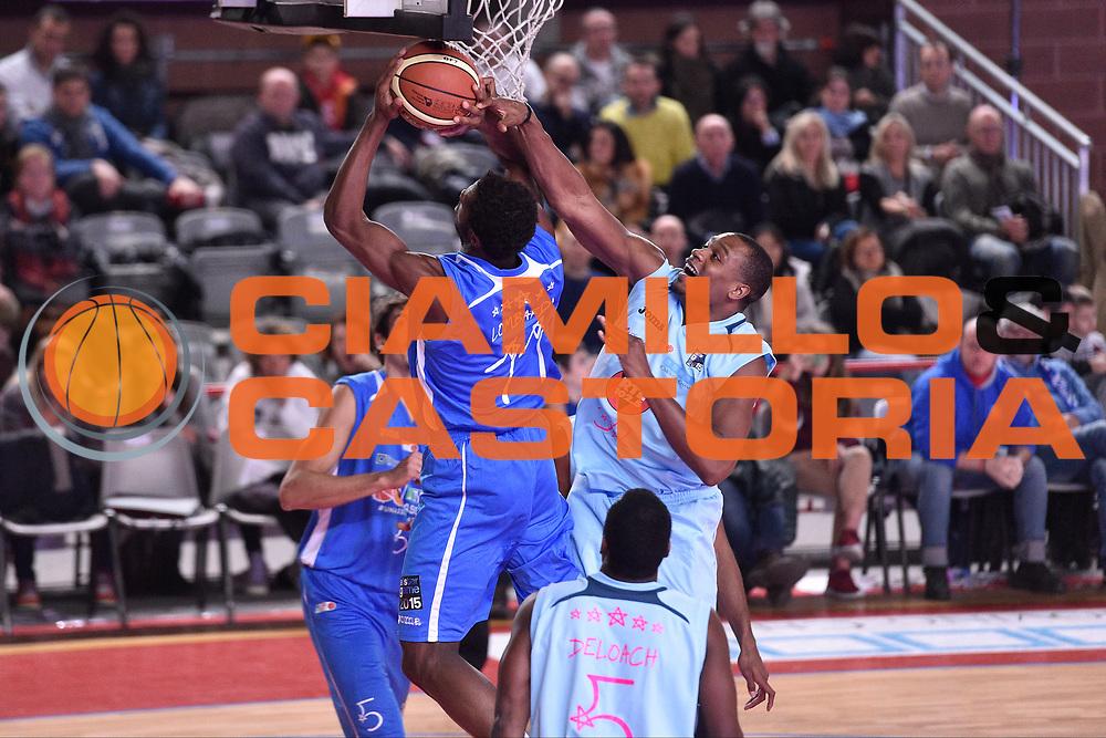 DESCRIZIONE : Mantova LNP 2014-15 All Star Game 2015<br /> GIOCATORE : Eric Lombardi Brownlee Justin<br /> CATEGORIA : Tiro Penetrazione Stoppata<br /> EVENTO : All Star Game LNP 2015<br /> GARA : All Star Game LNP 2015<br /> DATA : 06/01/2015<br /> SPORT : Pallacanestro <br /> AUTORE : Agenzia Ciamillo-Castoria/ GiulioCiamillo<br /> Galleria : LNP 2014-2015 <br /> Fotonotizia : Mantova LNP 2014-15 All Star game 2015<br /> Predefinita :