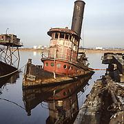 Steam Tug Chester, 1987