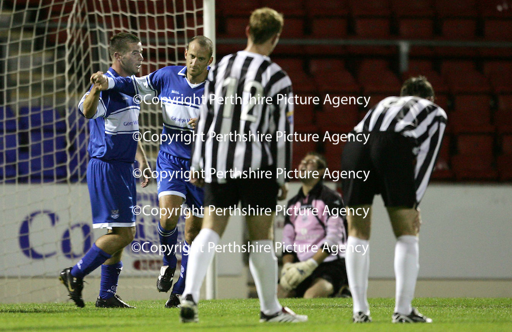 St Johnstone v Elgin City.... CIS Cup...22.08.06<br />