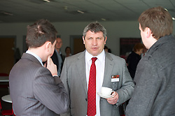 NEWPORT, WALES - Saturday, April 20, 2013: Wales coach Osian Roberts at the opening of the FAW National Development Centre in Newport. (Pic by David Rawcliffe/Propaganda)