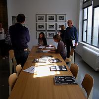 Sede de la Agencia Magnum Photos en Paris.<br /> Sala de Editores y Exposicion de George Rodger<br /> Paris, Francia 2008<br /> (Copyright © Aaron Sosa)