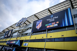 August 15, 2018 - Tallinn, Estonia - A. le Coq Arena stadium before the UEFA Super Cup..The 2018 UEFA Super Cup was the 43rd edition of the UEFA Super Cup, an annual football match organized by UEFA and contested by the reigning champions of the two main European club competitions, the UEFA Champions League and the UEFA Europa League. It was played at the A. Le Coq Arena in Tallinn, Estonia. (Credit Image: © Hendrik Osula/SOPA Images via ZUMA Wire)
