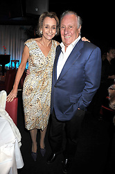 "FREDDIE & SANDY FORSYTH at a party to promote the ""American Songbook in London"" aseries of intimate concerts featuring 1959 Broadway songs, held at Pizza on The Park, Hyde Park Corner, London on 18th March 2009."