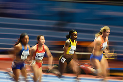 March 2, 2018 - Birmingham, England, United Kingdom - Elaine Thompson of Jamaica at 60 meter semi final at World indoor Athletics Championship 2018, Birmingham, England on March 2, 2018. (Credit Image: © Ulrik Pedersen/NurPhoto via ZUMA Press)