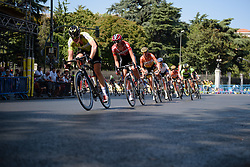 Anouk Rijff (Lotto Soudal) at Madrid Challenge by La Vuelta an 87km road race in Madrid, Spain on 11th September 2016.