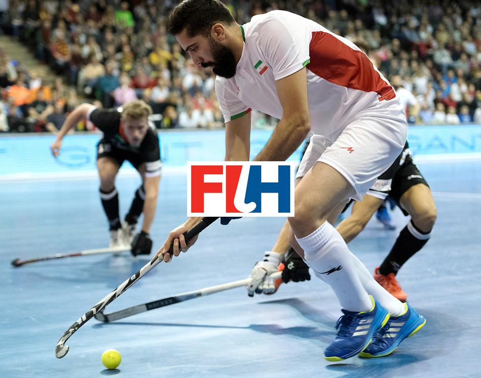 BERLIN - Indoor Hockey World Cup<br /> SF1 Germany - Iran<br /> foto: Navid Taherirad <br /> WORLDSPORTPICS COPYRIGHT FRANK UIJLENBROEK