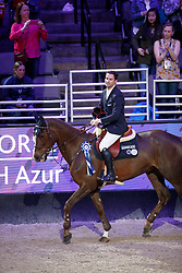 Duguet Romain, SUI, Twentytwo Des Biches<br /> Longines FEI World Cup Jumping Final IV, Omaha 2017 <br /> © Hippo Foto - Dirk Caremans<br /> 02/04/2017