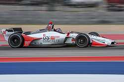 March 23, 2019 - Austin, TX, U.S. - AUSTIN, TX - MARCH 23: Marco Andretti (98) of Andretti Autosport/Bryan Herta Autosport/Marco Andretti driving a Honda heads for the next turn during the IndyCar morning practice at Circuit of the Americas on March 23, 2019 in Austin, Texas. (Photo by Ken Murray/Icon Sportswire) (Credit Image: © Ken Murray/Icon SMI via ZUMA Press)
