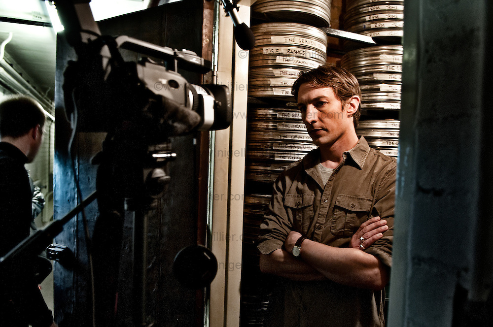 Nitrate Benn Northover on the set of Nitrate