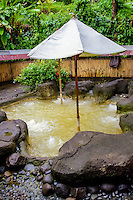 Bali, Tabanan, Yeh Panes. Hot springs and spa. Here you can submerge yourself in healthy hot water.