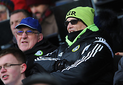 Forest Green Rovers fans  - Mandatory by-line: Nizaam Jones/JMP- 09/02/2019 - FOOTBALL - New Lawn Stadium- Nailsworth, England - Forest Green Rovers v Notts County - Sky Bet League Two