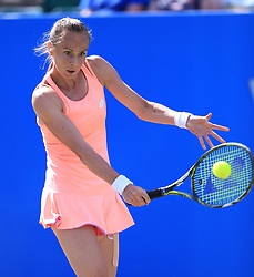 Slovakia's Magdalena Rybarikova during day four of the AEGON Open Nottingham at Nottingham Tennis Centre. PRESS ASSOCIATION Photo. Picture date: Thursday June 15, 2017. See PA story TENNIS Nottingham. Photo credit should read: Nigel French/PA Wire