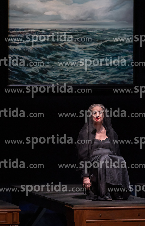 11.04.2019, Große Universitätsaula, Salzburg, AUT, Salzburger Osterfestspiele, Fotoprobe, Kammeroper Therese (nach Emile Zola), im Bild Renate Behle als Mme Raquin // during the rehearsal of the Chamber Opera Therese (after Emile Zola). The Salzburg Easter Festival takes place from 13 April to 23 April  2019, at the Große Universitätsaula in Salzburg, Austria on 2019/04/11. EXPA Pictures © 2019, PhotoCredit: EXPA/ Ernst Wukits