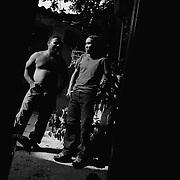 APUNTES SOBRE MI VIDA: LA PASTORA I - 2009/10<br /> Photography by Aaron Sosa<br /> Los Hermanos Maikel y Andry Montilla.<br /> La Pastora, Caracas - Venezuela 2009<br /> (Copyright © Aaron Sosa)