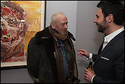 David Bailey,  Antony Micallef , Antony Micallef private at Lazarides Rathbone, 11 RATHBONE PLACE, London. 12 February 2015