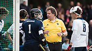 TILBURG - Scheidsrechter Laurens Hendrikx . Hoofdklasse hockey competitie Tilburg-SCHC (4-2). COPYRIGHT KOEN SUYK