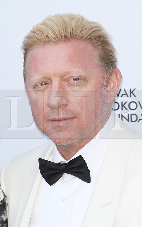 © Licensed to London News Pictures. Boris Becker at the Novak Djokovic Foundation London gala dinner, The Roundhouse, London UK, 08 July 2013. Photo credit: Richard Goldschmidt/LNP