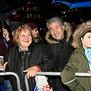 Sadiq Khan is a Mayor of London joins the ceremony to light a sacred Menorah to celebrate Chanukah (Hanukkah), the eight-day Jewish Festival in Trafalgar Square, 5th December 2018, London, UK.