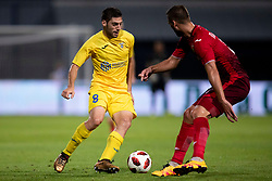 Matija Sirok of NK Domzale during 2nd Leg football match between NK Domzale and FC Ufa in 2nd Qualifying Round of UEFA Europa League 2018/19, on August 2, 2018 in Sports Park Domzale, Domzale, Slovenia. Photo by Urban Urbanc / Sportida