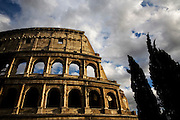 The Colosseo. Rome, Italy