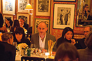 DINOS CHAPMAN, Charles Finch and  Jay Jopling host dinner in celebration of Frieze Art Fair at the Birley Group's Harry's Bar. London. 10 October 2012.