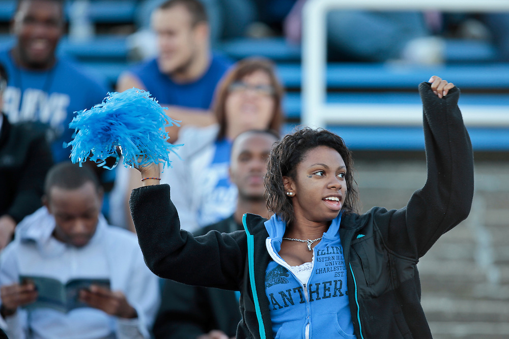 Photos from the 95th Homecoming Game Saturday, Oct. 22, 2011, in O'Brien Stadium on the Eastern Illinois University campus in Charleston, Ill. (STEPHEN HAAS)