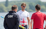 Caversham, Nr Reading, Berkshire.<br /> <br /> Jonny WALTON. Olympic Rowing Team Announcement morning training before the Press conference at the RRM. Henley.<br /> <br /> Thursday  DATE}<br /> <br /> [Mandatory Credit: Peter SPURRIER/Intersport Images]