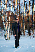 Poet Richard Blanco in Bethel, Maine. Blanco will be announced as the next poet to read at the presidential inauguration in 2013. Craig Dilger for The New York Times. .