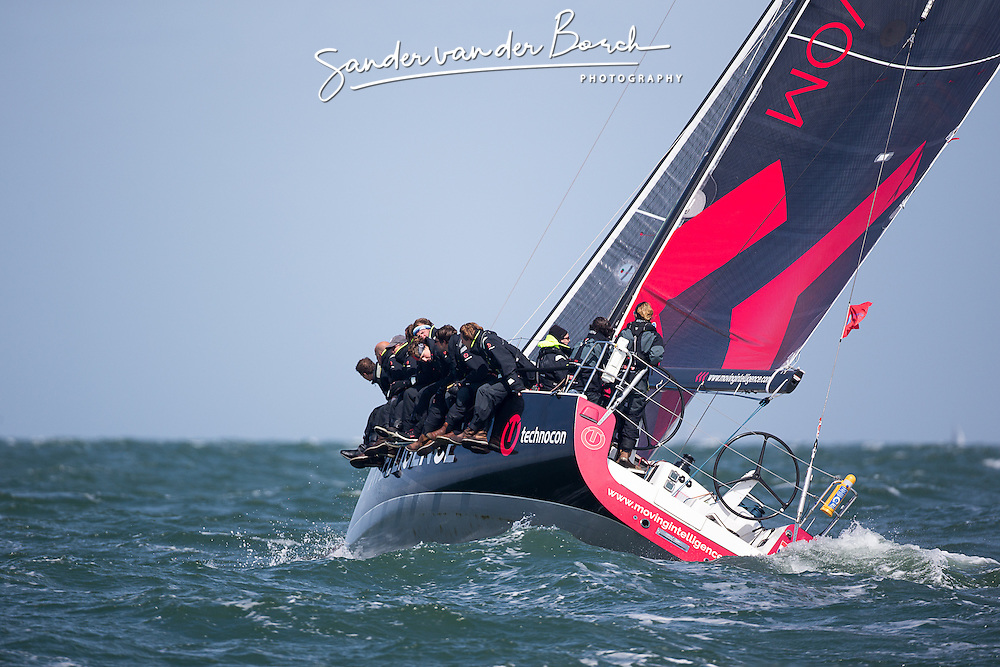 Second day of the Delta Lloyd North Sea Regatta, Scheveningen, the Netherlands, Saturday, 23rd of May 2015.