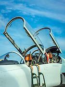 CF-5D jet trainer.