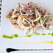 Lakaz Chamarel Exclusive Lodge. Palmist heart salade | Le lodge de Lakaz Chamarel. Salade au coeur de palmier
