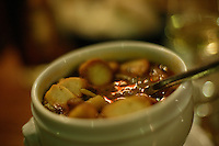 vegetable soup at UMuseu restaurant  in Corsica..photo by Owen Franken